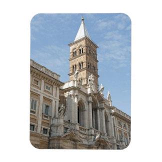 Das Äußere von Kirche Heilig-Maria Maggiore in 2 Rechteckiger Fotomagnet