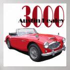 Das Austin Healey 3000 Poster