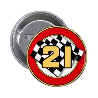 Das Auto 21 Runder Button 5,7 Cm