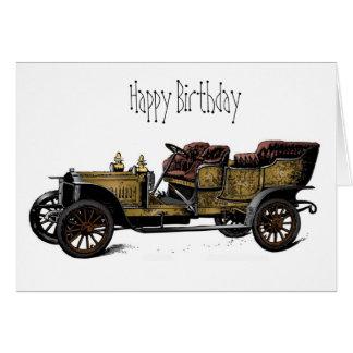 Das Auto-alles- Gute zum Geburtstagkarte des Grußkarte