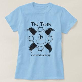 Das B&W der Troth-Frauen volles vorderes T-Shirt