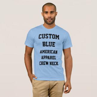 Das BABY-BLAU-AMERIKANISCHER KLEIDERT - Shirt der