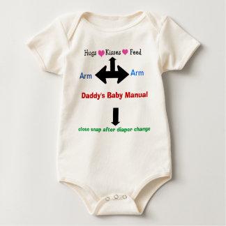 Das Baby-manuelle Säuglings-Lagerschwelle des Baby Strampler