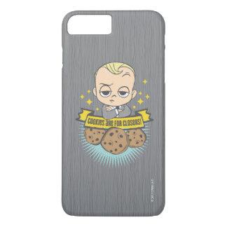 Das Baby u. die Plätzchen des Chef-Baby-| sind für iPhone 8 Plus/7 Plus Hülle