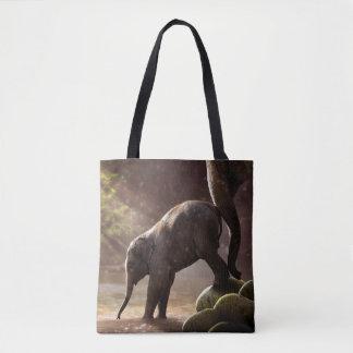 Das Bad-Taschen-Tasche des Baby-Elefanten erste Tasche