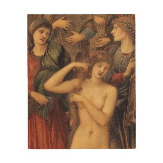 Das Bad von Venus durch Sir Edward Coley Burne Holzdruck
