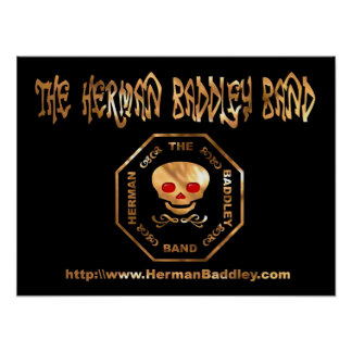 Das Band Hermans Baddley Poster