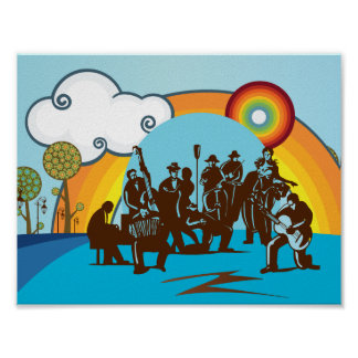 Das Band-Plakat