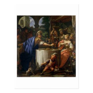 Das Bankett des Kennzeichens Anthony (83-30 BC) Postkarte