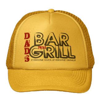 Das Bar des Vatis und Grill-Fernlastfahrer-Hut Baseballkappen