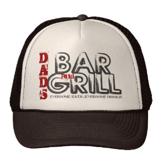Das Bar des Vatis und Grill-Fernlastfahrer-Hut Retrokultmütze