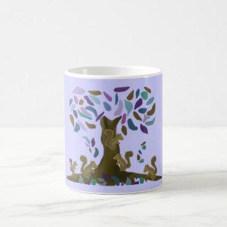 Das Baumhaus des Eichhörnchens Kaffeetasse