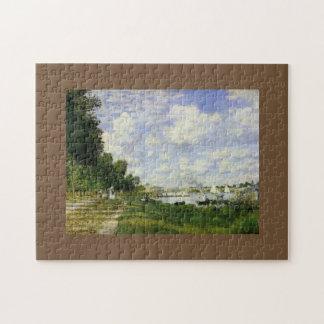 Das Becken bei Argenteuil - Claude Monet Foto Puzzles