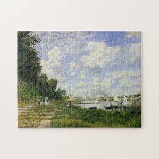 Das Becken bei Argenteuil - Claude Monet Jigsaw Puzzles