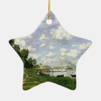 Das Becken bei Argenteuil - Claude Monet Keramik Ornament