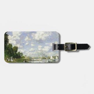 Das Becken bei Argenteuil - Claude Monet Kofferanhänger