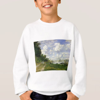 Das Becken bei Argenteuil - Claude Monet Sweatshirt