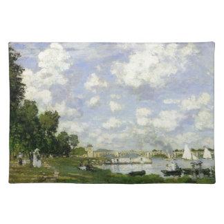 Das Becken bei Argenteuil - Claude Monet Tischset