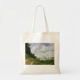 Das Becken bei Argenteuil - Claude Monet Tragetasche