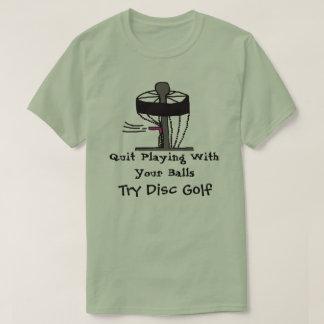 Das beendigte Spielen mit Bällen versuchen T-Shirt