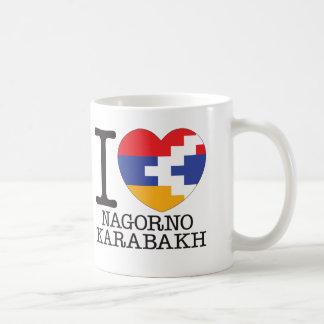 Das Bergkarabach-Liebe v2 Kaffeetasse