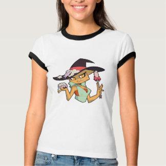 Das beringte T-Stück der Frauen mit T-Shirt