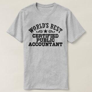 Das Best-Wirtschaftsprüfer der Welt T-Shirt