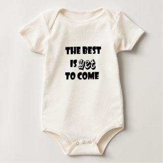 das Beste ist, schon zu kommen Baby Strampler