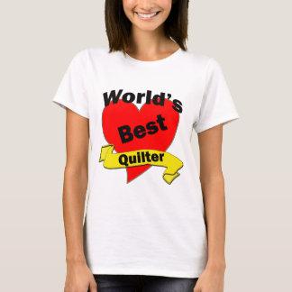 Das beste quilter der Welt T-Shirt