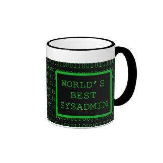 Das beste SysAdmin der Welt Tasse