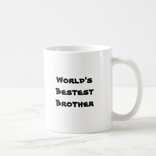 Das Bestest der Welt Bruder Kaffeetassen