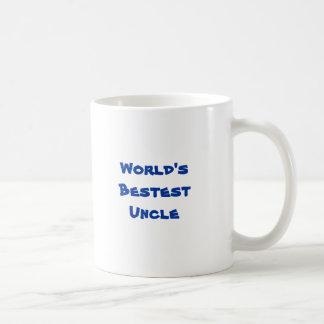 Das Bestest der Welt Onkel Kaffeetasse