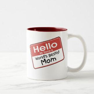 Das Bestist der Welt Mamma-T-Shirts und Geschenke Tee Haferl