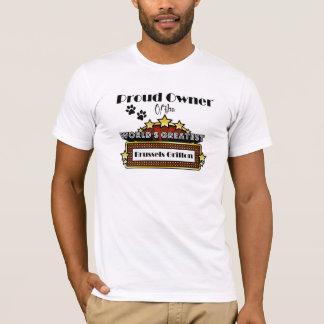 Das bestste Brüssel Griffon der stolze T-Shirt