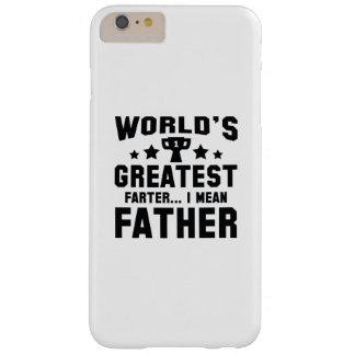 Das bestste Farter der Welt Barely There iPhone 6 Plus Hülle