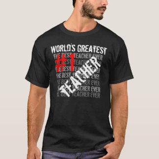 Das bestste Teache #1 Teac der beste T-Shirt