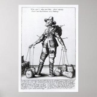 Das Bild von Pattenty', c.1641-50 Poster