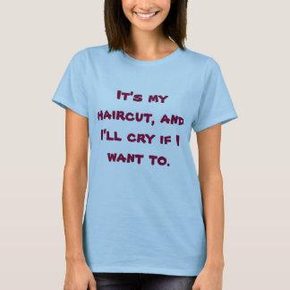 """Das Blau der Frauen """"ich schreie, wenn ich"""" zum T-Shirt"""
