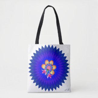 Das Blau Tasche