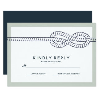 Das blaue Knoten   Wedding UAWG Karte