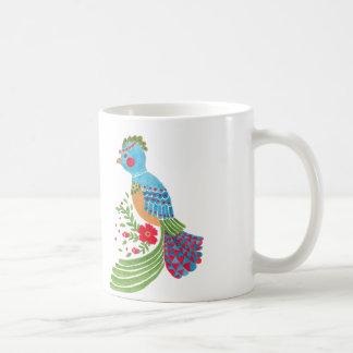 Das blaue Quetzal Kaffeetasse