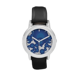 The Blue 70's year styling  Handuhr