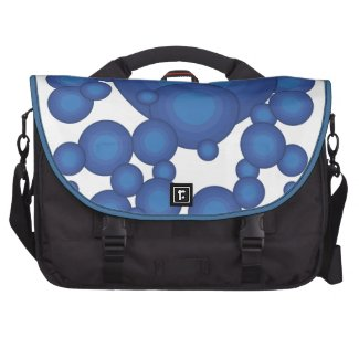 The Blue 70's year styling  Laptop Tasche