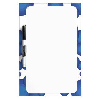 The Blue 70's year styling  Whiteboard