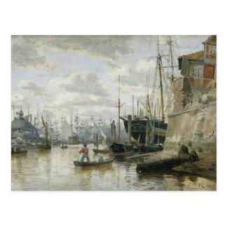 Das Blockhaus an Hamburg-Hafen, 1848 Postkarten