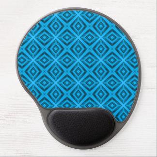 Das Blues-Vintage Kaleidoskop-Gel Mousepad