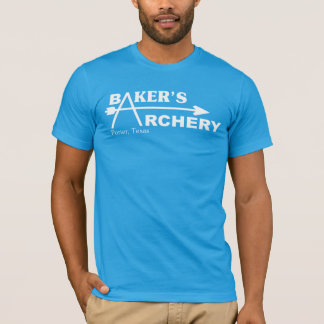 Das Bogenschießen des Bäckers T-Shirt