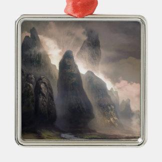 Das Bollwerk der Natur Silbernes Ornament