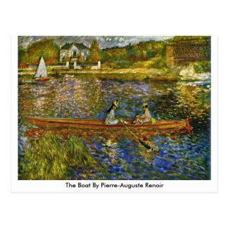 Das Boot durch Pierre-Auguste Renoir Postkarte