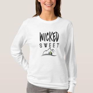 Das böse süße Shirt der Frau